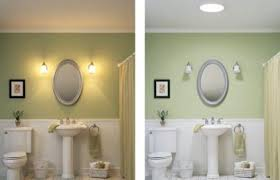 Solatube Bathroom Before and After